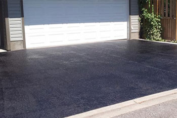 Residential driveway repair and maintenance